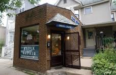 The clock repair shop