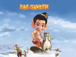 Sweet Little joven Bal Ganesha