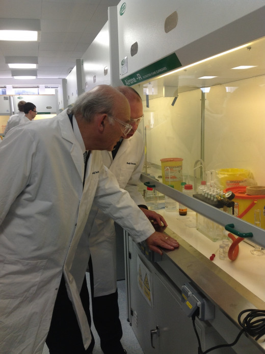 Redx Pharma Research Lab, used to study Hep C and develop drugs