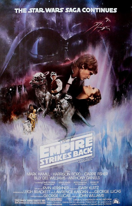 The Empire Strikes Back (1980) art by Roger Kastel