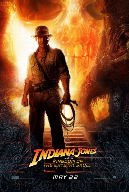 Indiana Jones and the Kingdom of the Crystal Skull (2008) art by Drew Struzan