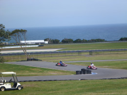 Plenty of things to do, places to see and life to live after being birthed in to the world  (Phillip Island Go-Kart Track)