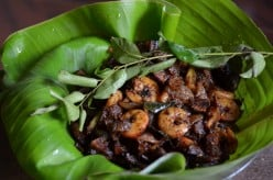 Nadan Kerala Style Spicy Prawn roast : from my mother's kitchen