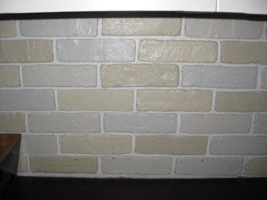 Giving Faux Brick a Makeover