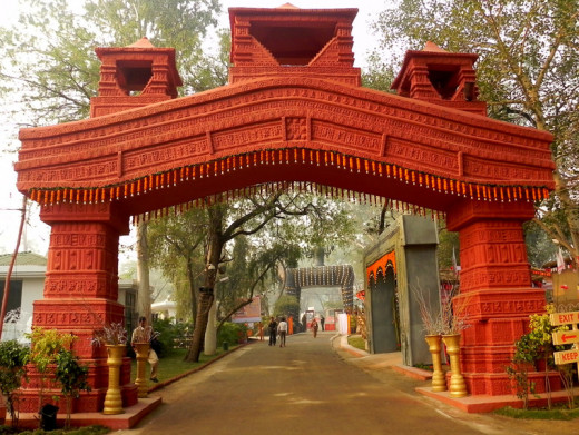 Entrance Gate, SUrajkund Mela 2012