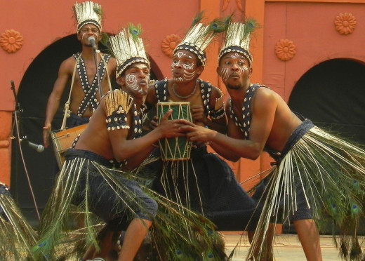 Siddi Dance Performers from Gujarat