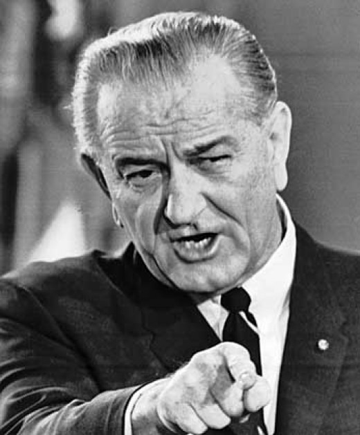 LBJ, not a gentleman, but he got things done, and then Vietnam got him done.