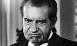It is tough to find anyone who speaks well of Nixon personally, though 'Only Nixon goes to China'.  Schlesinger certainly can't do it.