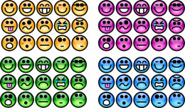 A face for every occasion and an occasion for every face! That's what emotions are about!