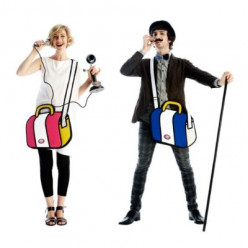 'Jump From Paper' Cartoon Bags