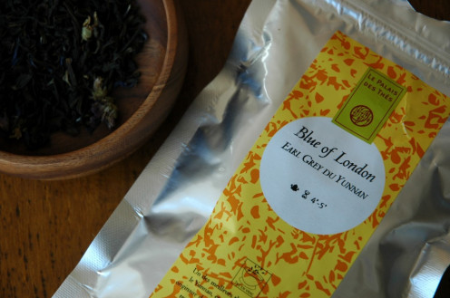 Blue of London Earl Gray Tea, Loose Leaf or Bag