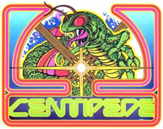 Graphic from the Centipede Arcade Flyer