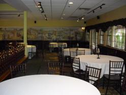 A venue for a wedding reception.