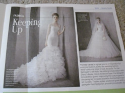 Wedding magazines give good ideas for current wedding trends.