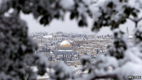 Snowstorms in the Middle East, is anyone still doubting the Polar Shift?