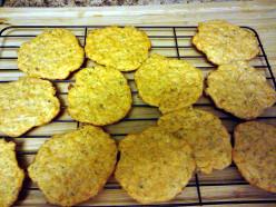 Crispy Cheesy Crackers
