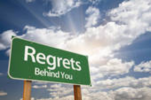 Don't live a life of regrets.