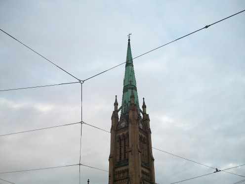 Spire of the Cathedral Church of St James, Toronto, Ontario