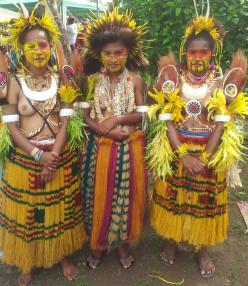 Mekeo girls - Caritas Technical Secondary School