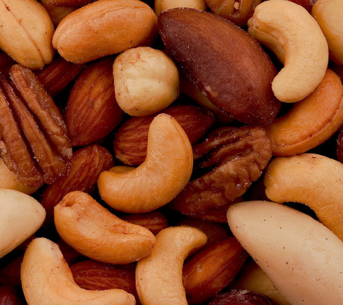 Mixed nuts.