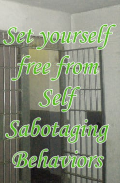 Self Defeating Behavior holds you back. Use these keys to open the door to personal freedom.