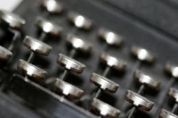 "Photo credit:  ""Typewriter Keys"" by Holly Chaffin"
