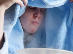 Cure Post Nasal Drip with Steam