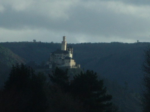 Marksburg Castle in the Rhine Valley