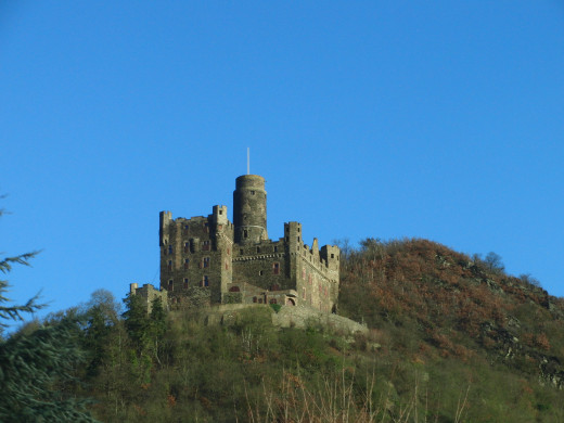Maus Castle in the Rhine Valley