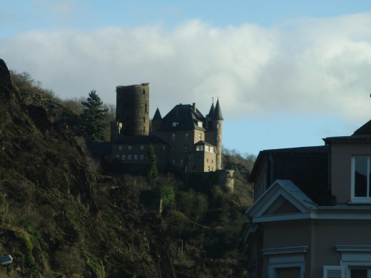 Katz Castle in the Rhine Valley