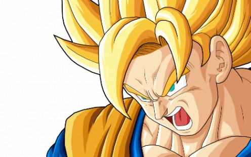 Son Goku's battle cries are best heard with good computer speakers!