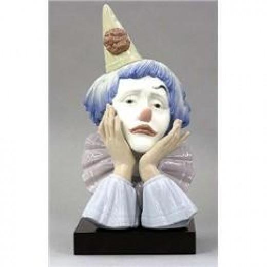 Sad Clown by Llardro