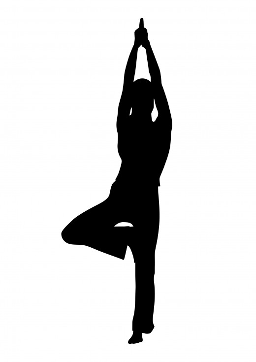 There are exactly 26 poses and 2 breathing exercises in every 90 minute class. This is the Tree pose, which according to Bikram Yoga Westboro, improves posture, balance, and circulatory disorders, etc.
