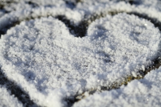 "http://www.freedigitalphotos.net/images/Love_g303-I_Love_Snow_Heart_p23368.html ""I Love Snow Heart"" by Tina Phillips"