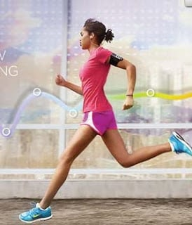 Enjoy great songs while jogging