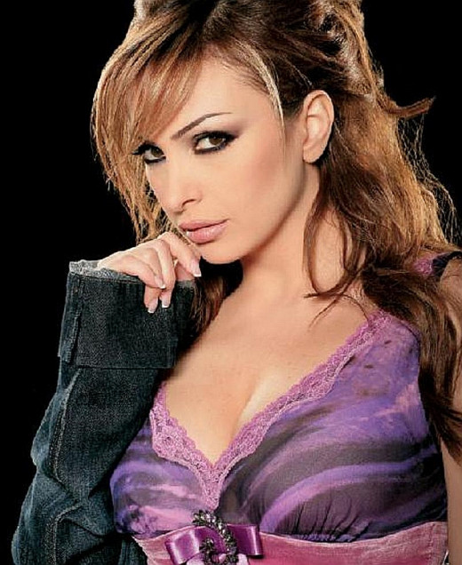 Lebanese singer, model and pop icon Amal Hijazi