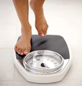 Stepping on the scale is not scary anymore