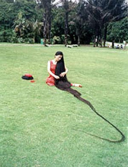 Xie Qiuping - The Woman with the World s Longest Hair - PicturesXie Qiuping
