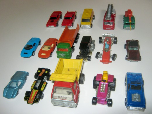 Some of my rarer Hot Wheels car collections