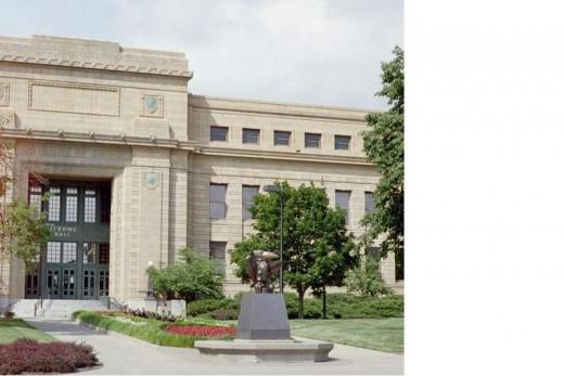 University of Kansas Student Union: Strong Hall