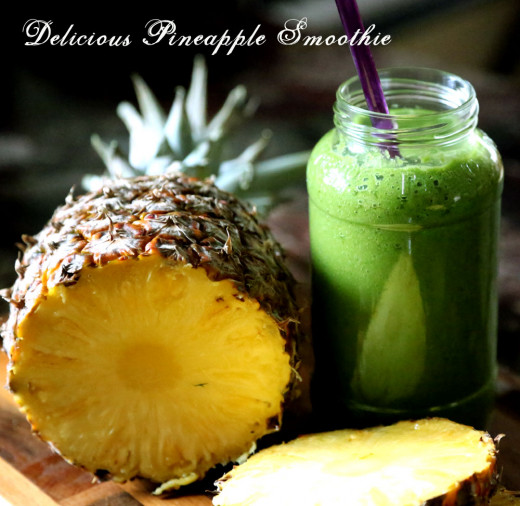 Not your typical pineapple smoothie!