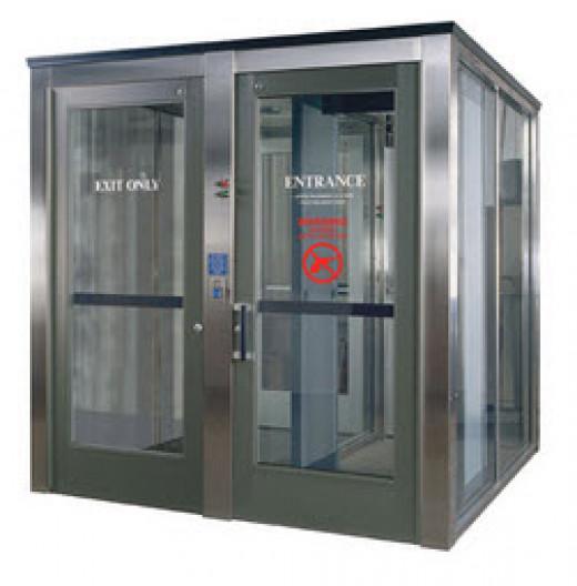 Bank Type Security Door System