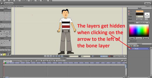 Dragging the Layers into the Bone Layer
