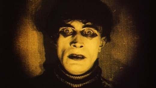 "Conrad Veidt as Cesare, Caligari's somnambulist, in ""The Cabinet of Dr. Caligari"""