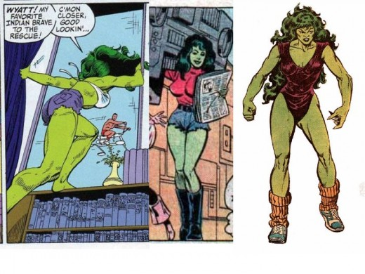 She Hulk Costumes