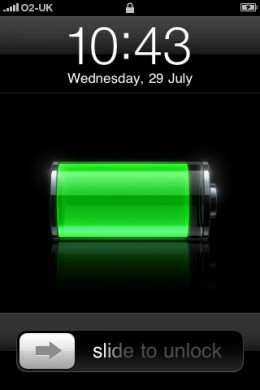 iPhone is Charging