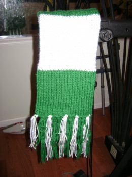 Crafty Andy: Harry Potter POA Crochet Scarf Free Pattern