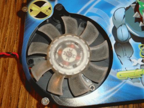 Fan Screw Removal