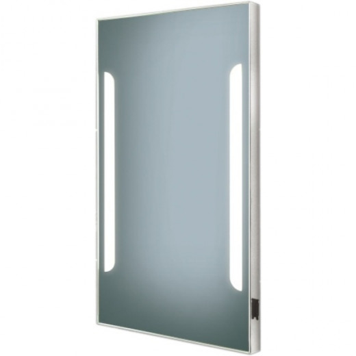 HIB Zenith Mirror, with illuminated lights down the sides.