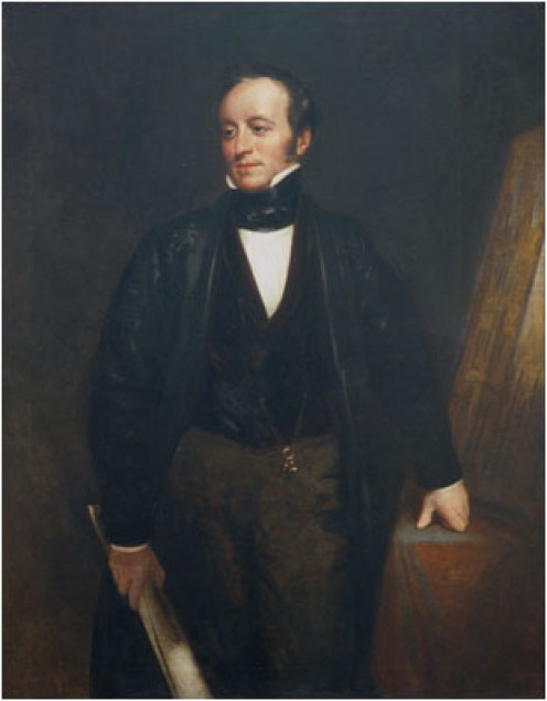 Sir Charles Barry by H W Pickersgill